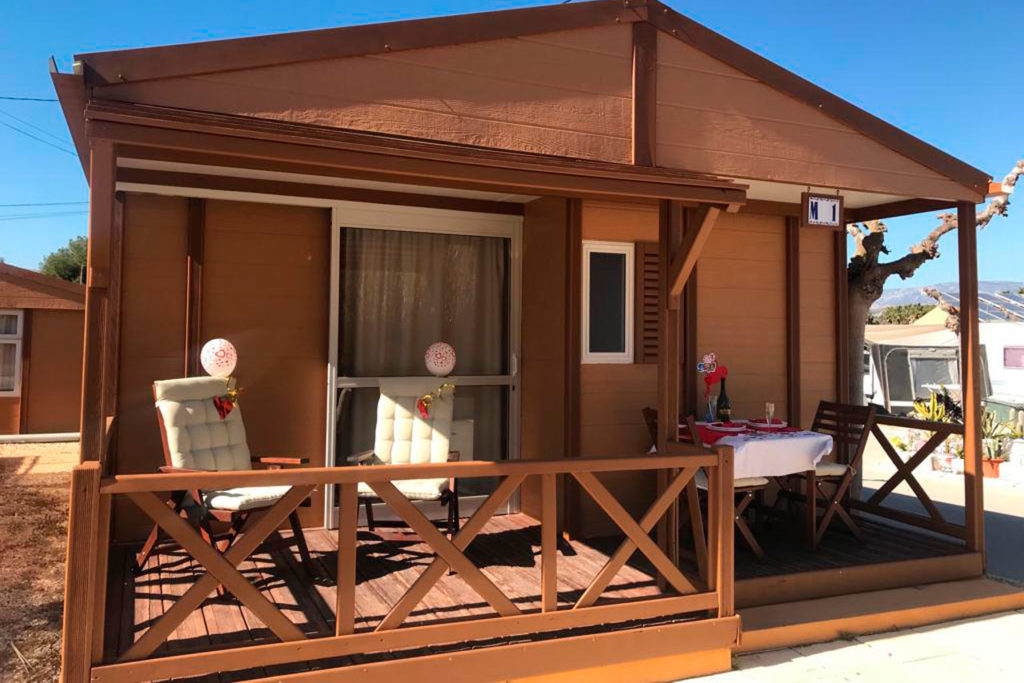 Camping con piscina Mobil Homes