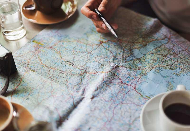 Planificar el viaje al alquilar una caravana
