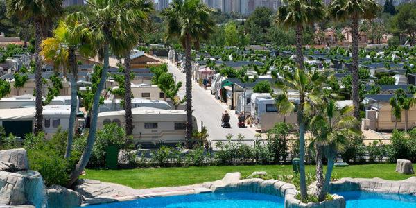 Caravanas Camping Villamar en Benidorm