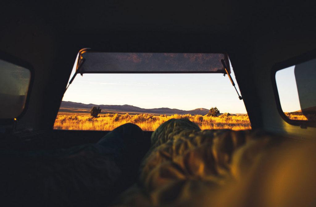 Dormir en una caravana