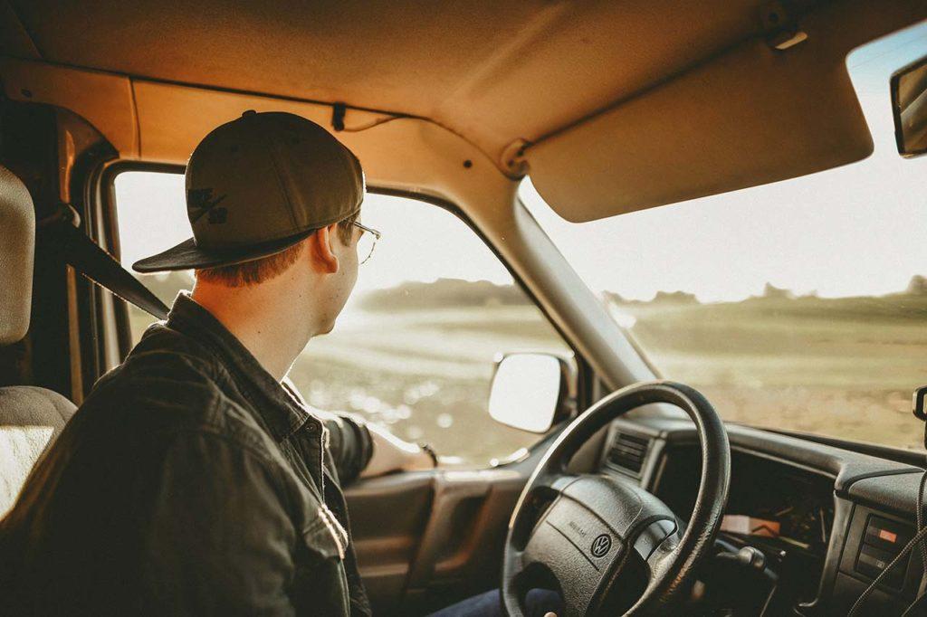 Conducir con una caravana plegable