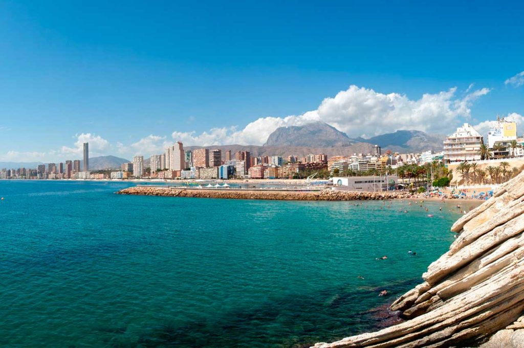 Best caravan routes along the Costa Blanca