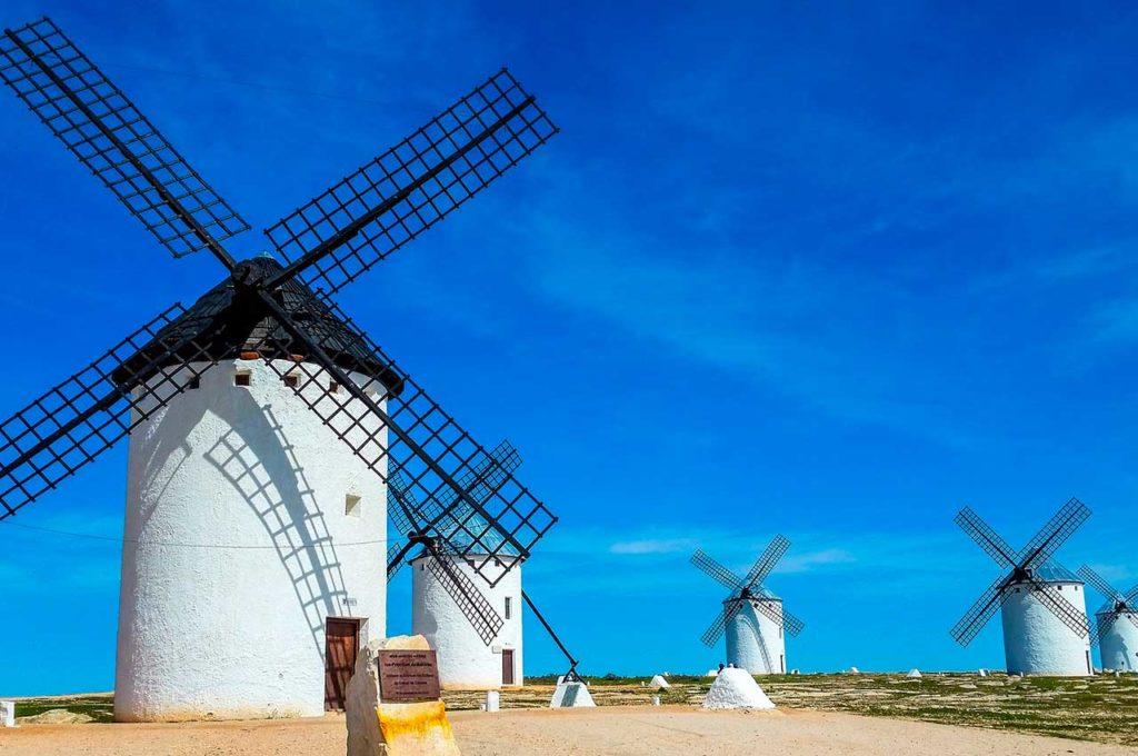 Caravan touring routes in Castilla-La Mancha