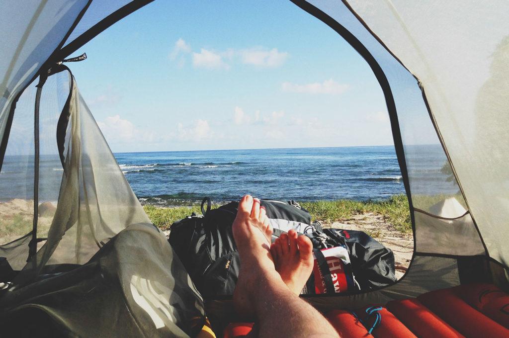 Material camping