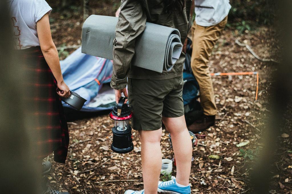 Material de camping kit de supervivencia