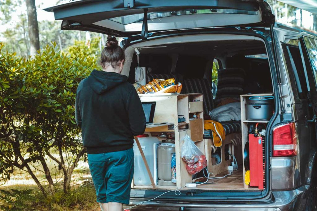 How to create a camper van