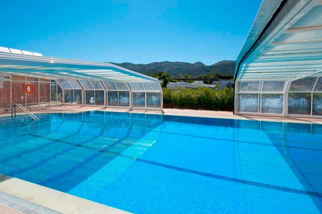 Vivir en un camping con piscina climatizada