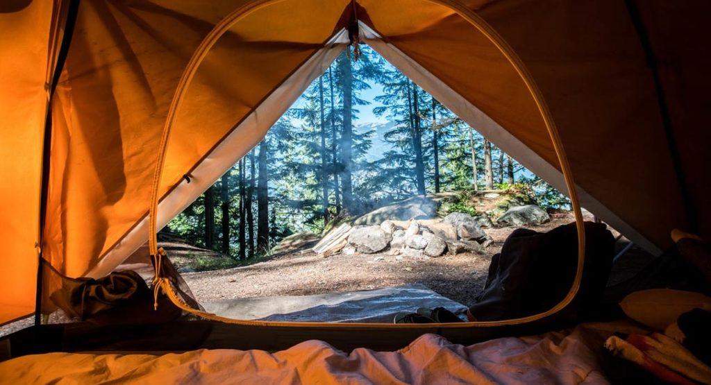 Suelo para camping