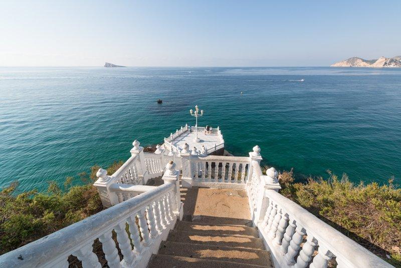 Balcón del Mediterráneo en Benidorm.